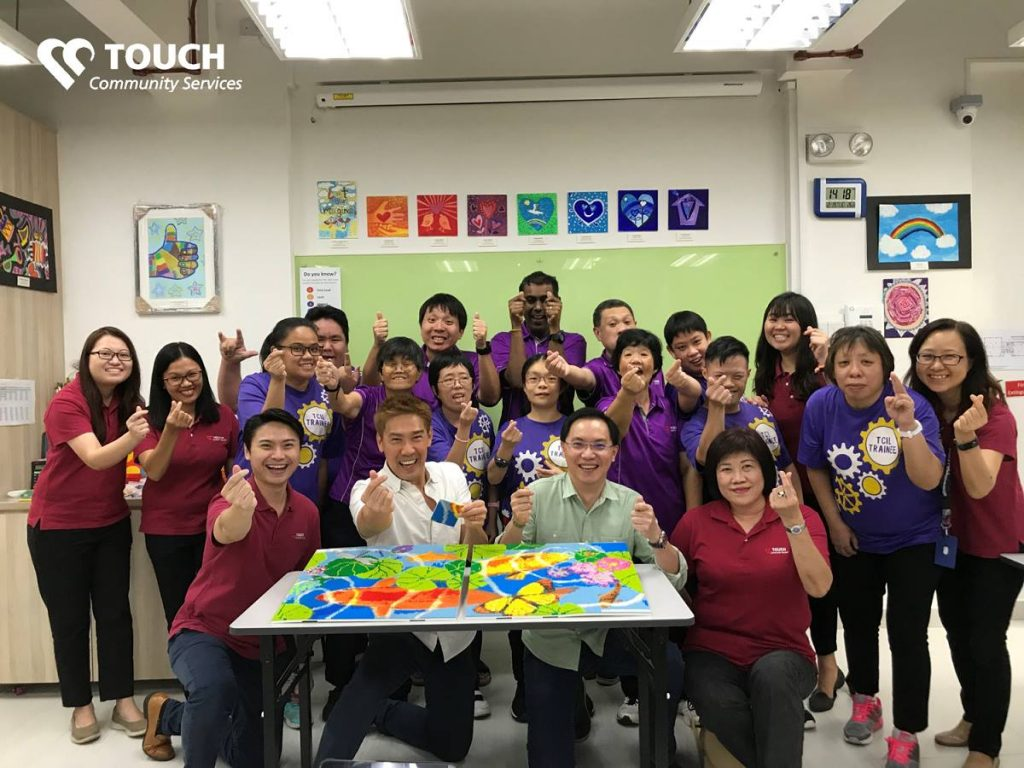 touch community services volunteering