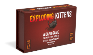Exploding Kittens Card Game Card Games For Big Group Gatherings Money Kinetics Singapore
