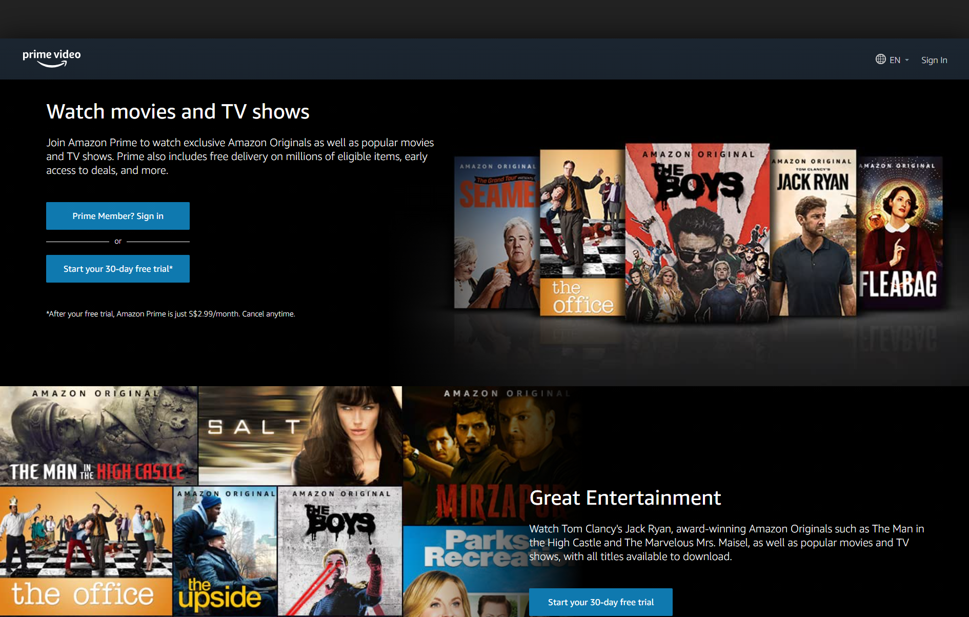 Best Paid Websites For Anime Amazon Prime Video