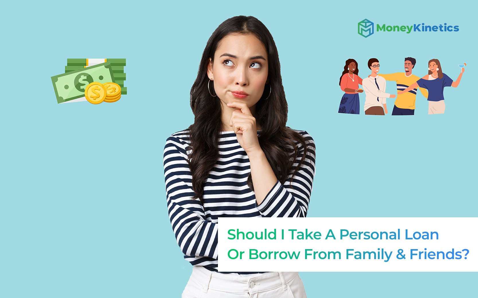 Is It Better To Pay Off A Debt Using A Personal Loan Or Borrow From Family & Friends?