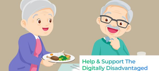 3 Platforms That Allows You To Help and Support The Digitally Disadvantaged Elderly Hawkers In Singapore